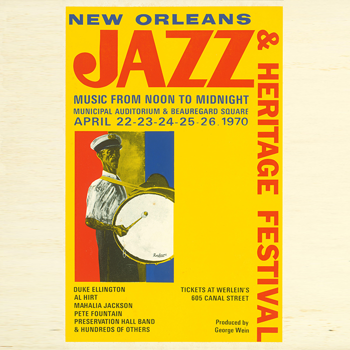 New Orleans Jazz and Heritage Festival 1970