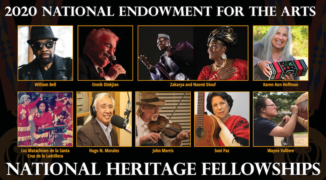The Culture of America: A Cross-Country Visit with the NEA National Heritage Fellows