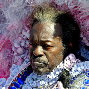 Bo Dollis of the Wild Magnolias Mardi Gras Indians