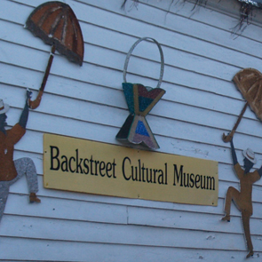 Sylvester Francis of the Backstreet Cultural Museum
