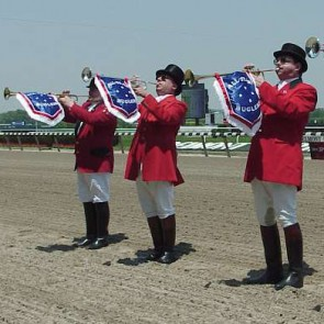Bugler at Churchill Downs, Louisville, KY