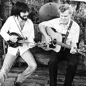 Marty Stuart with Doc Watson