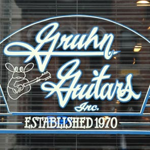 George Gruhn at Gruhn Guitars