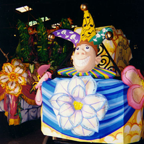 Krewe du Vieux parade with Ernie K-Doe