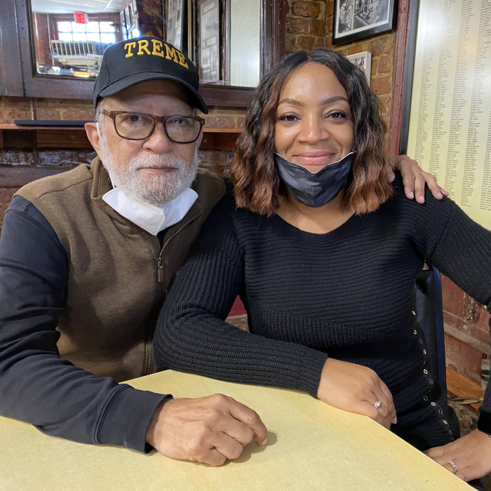 Wayne Baquet, Sr. and Arkesha Baquet of Li'l Dizzy's Cafe