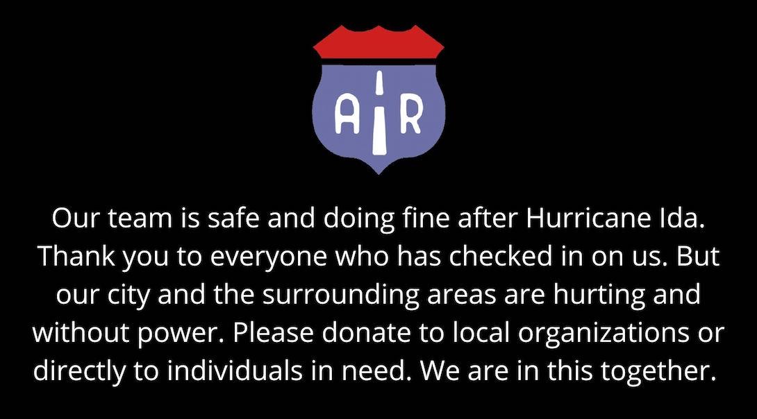 Hurricane Ida Relief