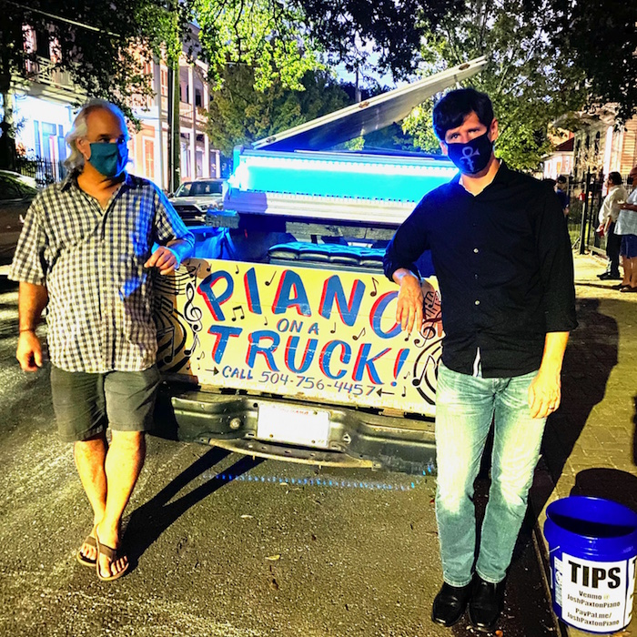 Piano on a Truck with Josh Paxton & Jacques Ferland