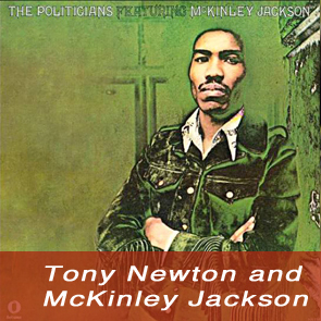 Tony Newton and McKinley Jackson