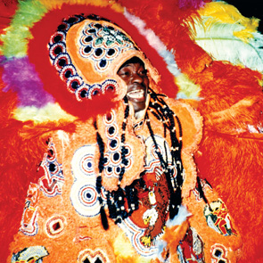 Wild Magnolias Mardi Gras Indian chief, Bo Dollis