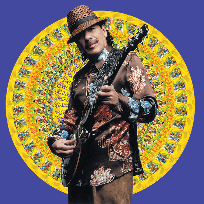 Santana Speaks: with Celia Cruz, Tito Puente, and Los Lobos