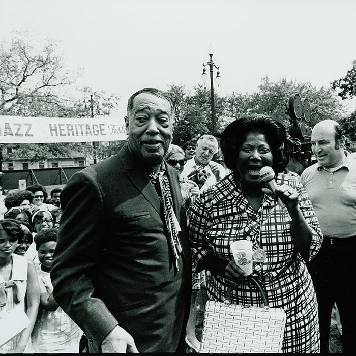 Celebrating Jazz Fest at 50: With Duke Ellington and Mahalia Jackson
