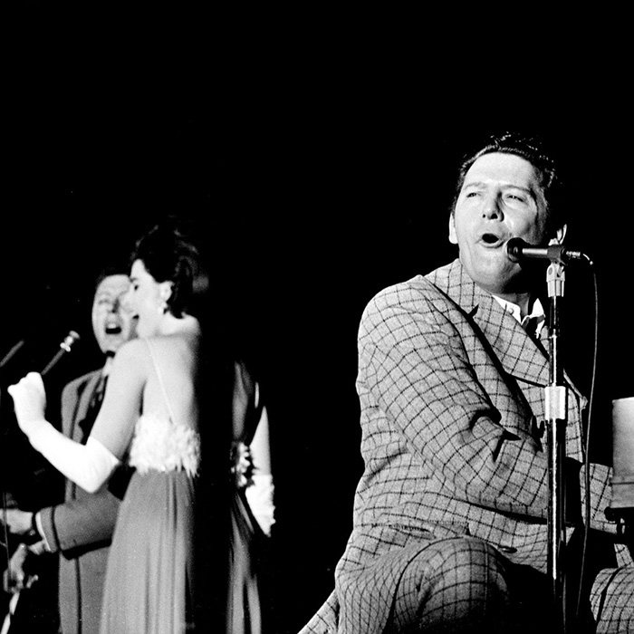 The Killer, the Thriller & the Chiller: Jerry Lee Lewis with sisters Linda Gail and Frankie Jean