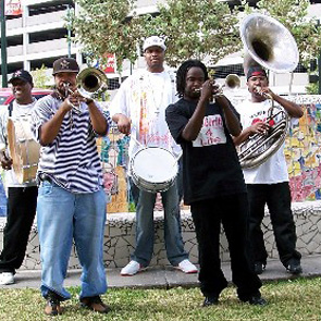 Routes March On: Brass Bands & Cajun Youths