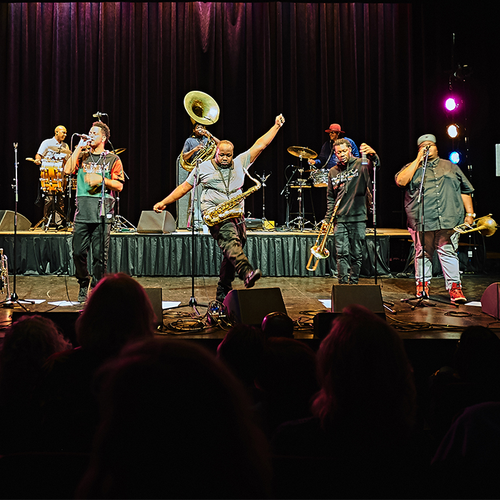 American Routes Live: New Years 2018 with the Soul Rebels, Christian Scott & Tonya Boyd-Cannon