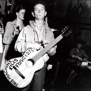 Going Down the Road with Woody Guthrie
