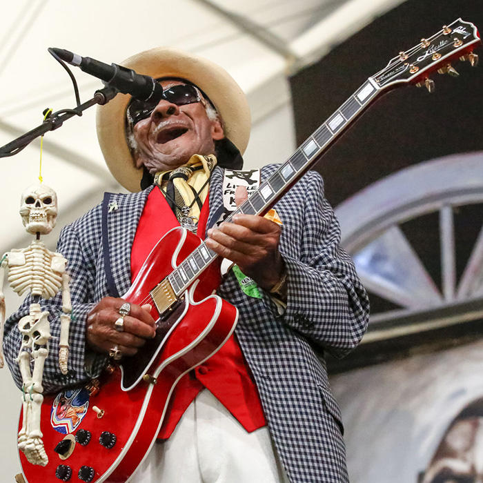 Blues-- The Universal Solvent & Little Freddie King Live
